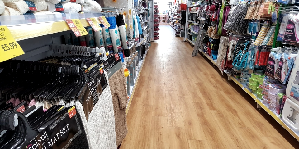 Variety store interior. Photograph by Graham Soult