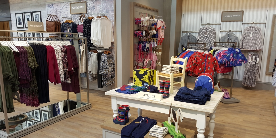 One of our photographs inside the new department store. Photograph by Graham Soult