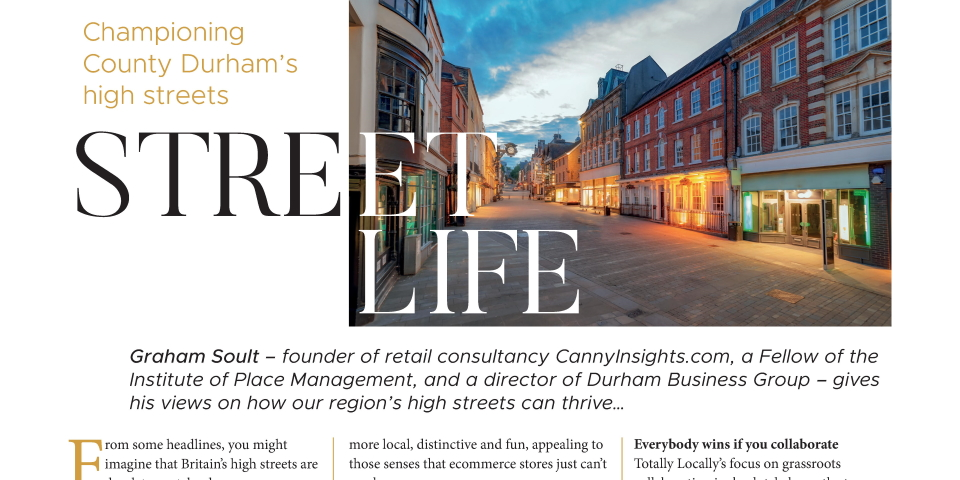 Our article in Wear Business magazine