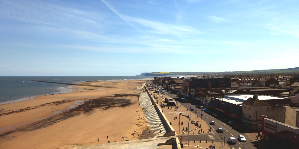 Redcar is one of the 100 places developing a Town Deal. Photograph by Graham Soult
