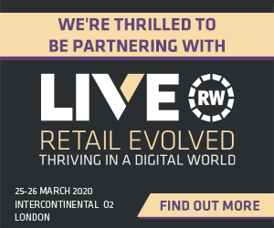 We're thrilled to be partnering with Retail Week Live