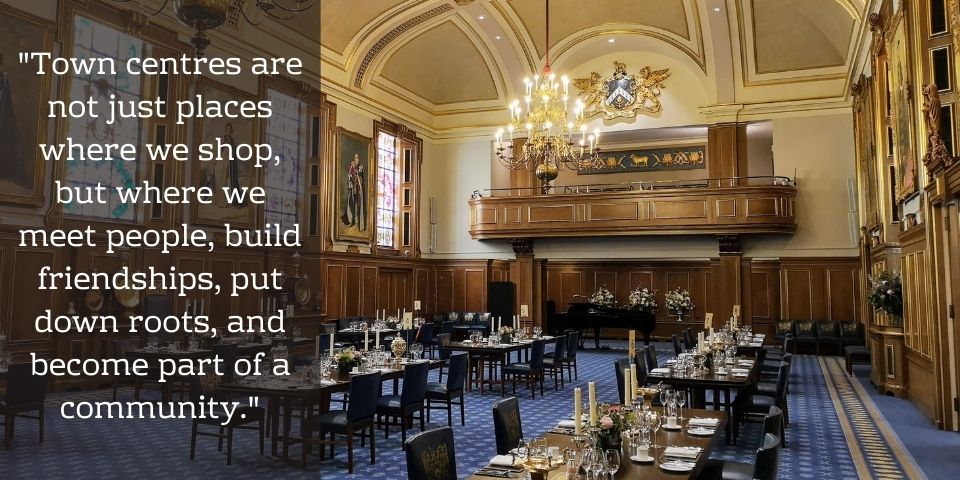 Quote from Graham Soult's Clothworkers' Company speech